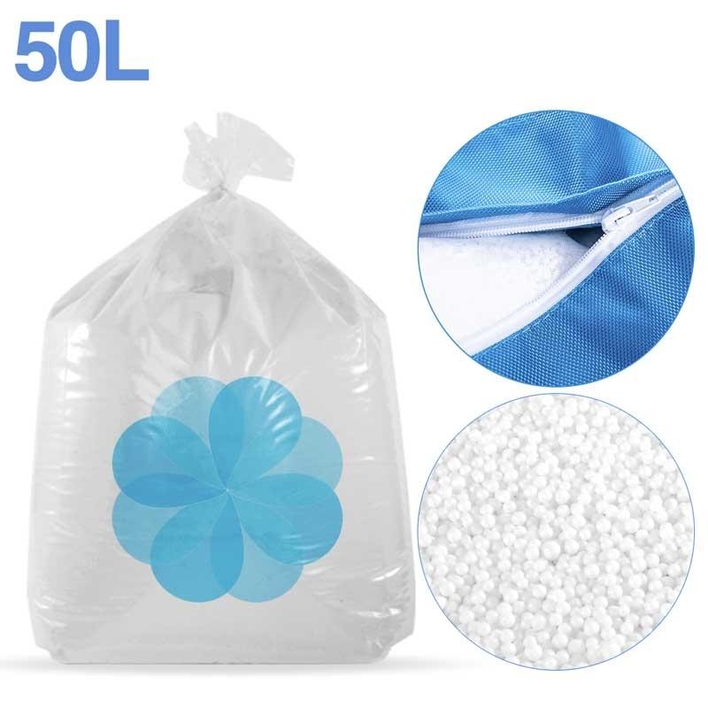 50 litres de billes de polystyrène recyclé pour pouf