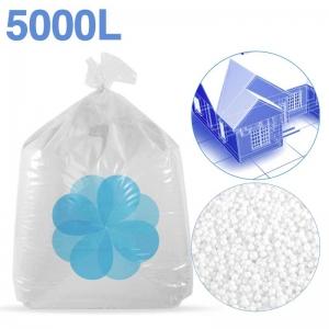 5000 litres de billes de polystyrène recyclé pour isolation