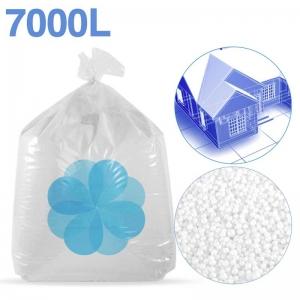 7000 litres de billes de polystyrène recyclé pour isolation