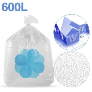 600 litres de billes de polystyrène recyclé pour isolation