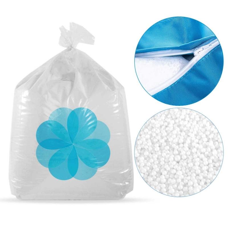 400 litres de billes de polystyrène recyclé pour pouf