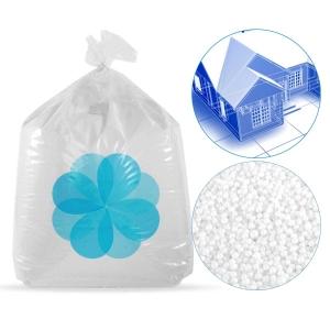 8000 litres de billes de polystyrène recyclé pour isolation